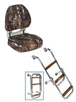 Кресла, сиденья, лестницы