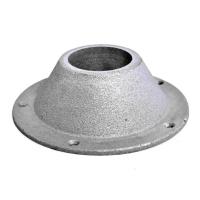 Основание для стойки стола, алюминий (3501953) 170 мм