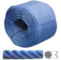 Веревка полиэстер двойная завивка 8мм х 200м