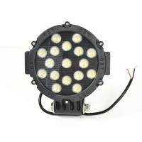 Прожектор рассеянный LED851b чёрный 3600Lm