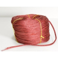 Веревка для лодки 12 мм красная нетонущая