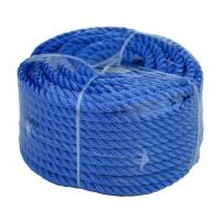 Веревка полиэстер 8мм х 30м синяя
