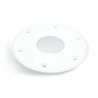 Основание для стойки стола белое ААА (54018-WH)