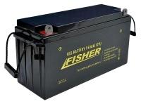 Аккумулятор гелевый Fisher 150Ah