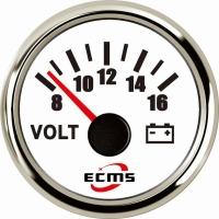 Вольтметр ECMS CMV2-WS-8-16 белый