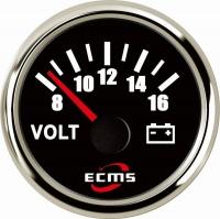 Вольтметр ECMS CMV2-BS-8-16 чёрный