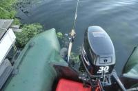 Держатель спиннинга на транцевые колёса Fishing TR