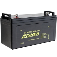Аккумулятор гелевый Fisher 100Ah