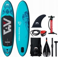 Доска SUP Aqua-Marina Vapor All-Around iSUP, 3м/12см
