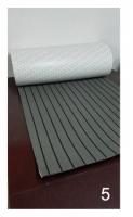 EVA искусственный тик Color 5 (цвет темно-серый , черная полоса)