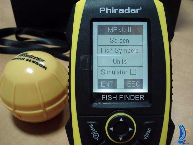 phiradar ff268w беспроводной эхолот