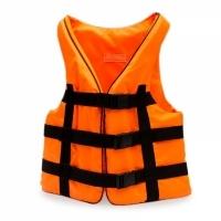 Страховочный жилет оранжевый