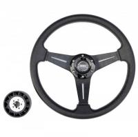 РРулевое колесо Pretech 35 см, черный (HD-5125D black)