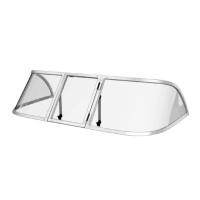 Ветровое стекло для лодки Обь М (Стандарт П)