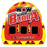 Буксируемый баллон (Плюшка) Super Bubba HI-VIS
