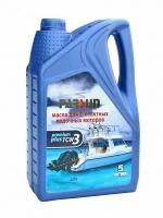 Масло для двухтактных моторов Parsun TCW3 Premium Plus (5 л.)