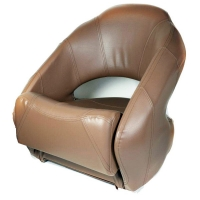 Сиденье Easepal Premium Bucket с системой flip-up коричневое 86551B